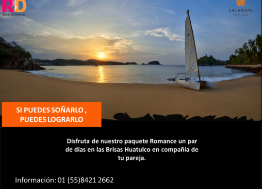 Paquete Romance Las Brisas Huatulco
